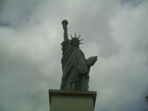 La statue de la Liberté !