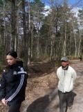 Fontainebleau avec Ông Ngoai (2)