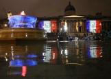 London-(Grande-Bretagne)-Trafalgar square