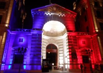 Paris-(France)-Garde de Paris-Caserne de la Cité