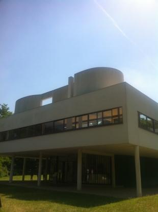 La Villa Savoye - Le Corbusier (66)