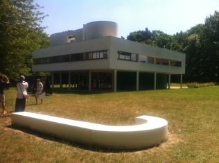 La Villa Savoye - Le Corbusier (74)