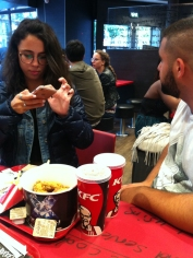 Kfc with family friends .. (6)
