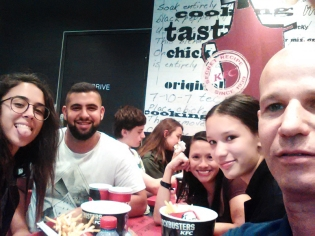Kfc with family friends .. (7)