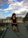 Sur les toits de Paris .. (10)