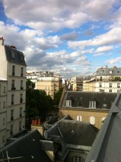 Sur les toits de Paris .. (12)