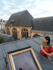 Sur les toits de Paris .. (40)
