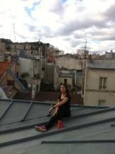 Sur les toits de Paris .. (6)