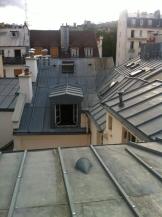 Sur les toits de Paris .. (7)