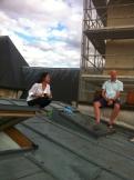 Sur les toits de Paris .. (9)