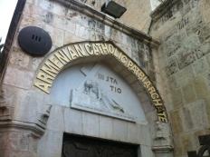 Via Dolorosa et l'Église du Saint-Sépulcre (2)